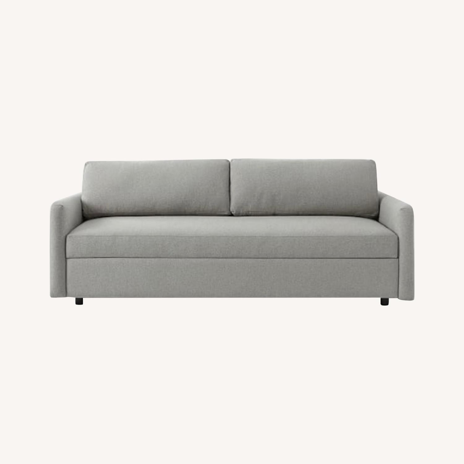 West Elm Clara sleeper sofa - image-0