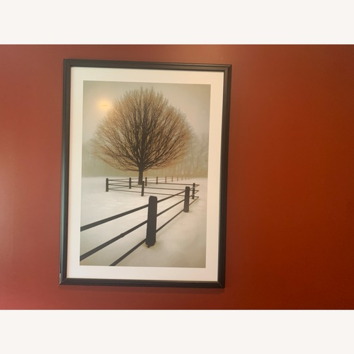 Used Solitude Black & White Tree for sale on AptDeco