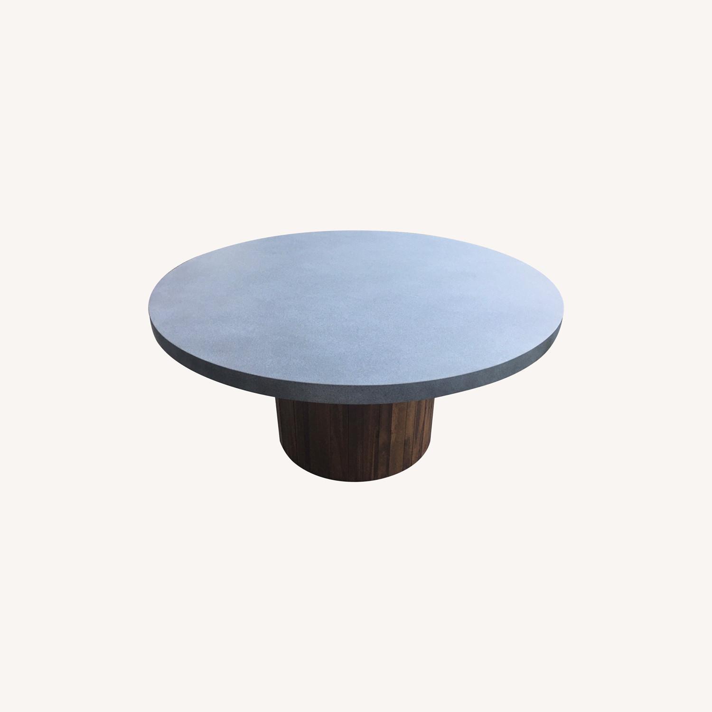 Pier 1 Imports Concrete Conversation Table - image-0