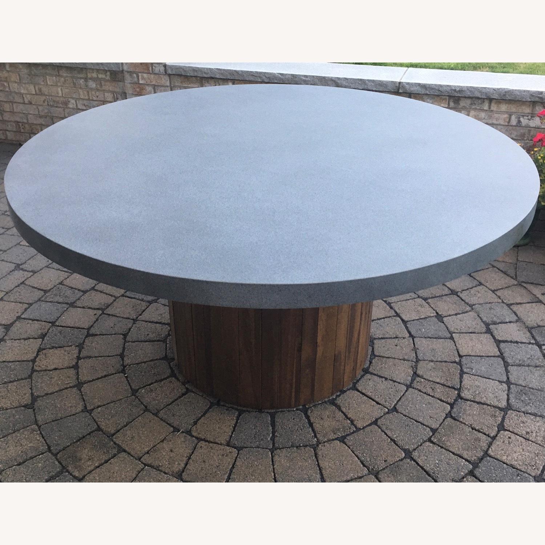 Pier 1 Imports Concrete Conversation Table - image-3