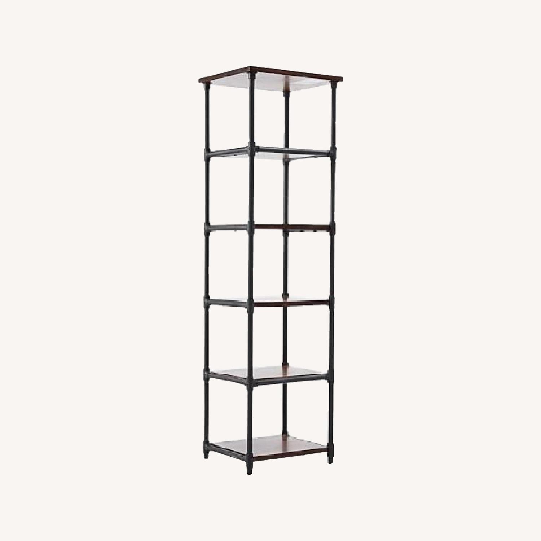 West Elm Industrial Pipe Shelves - image-0