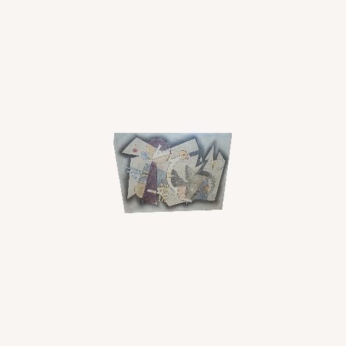 Used Abstract Modern Wall Art for sale on AptDeco