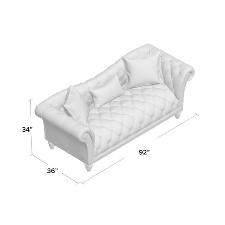 Wayfair Versailles Chesterfield Rolled Arm Sofa - image-4