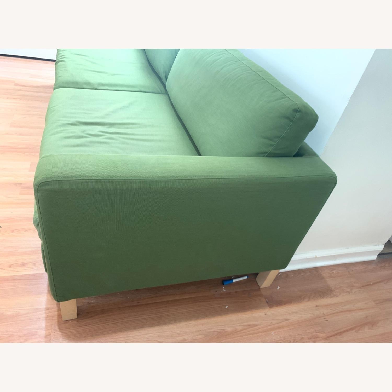 IKEA Olive Full Size Sleeper Sofa - AptDeco