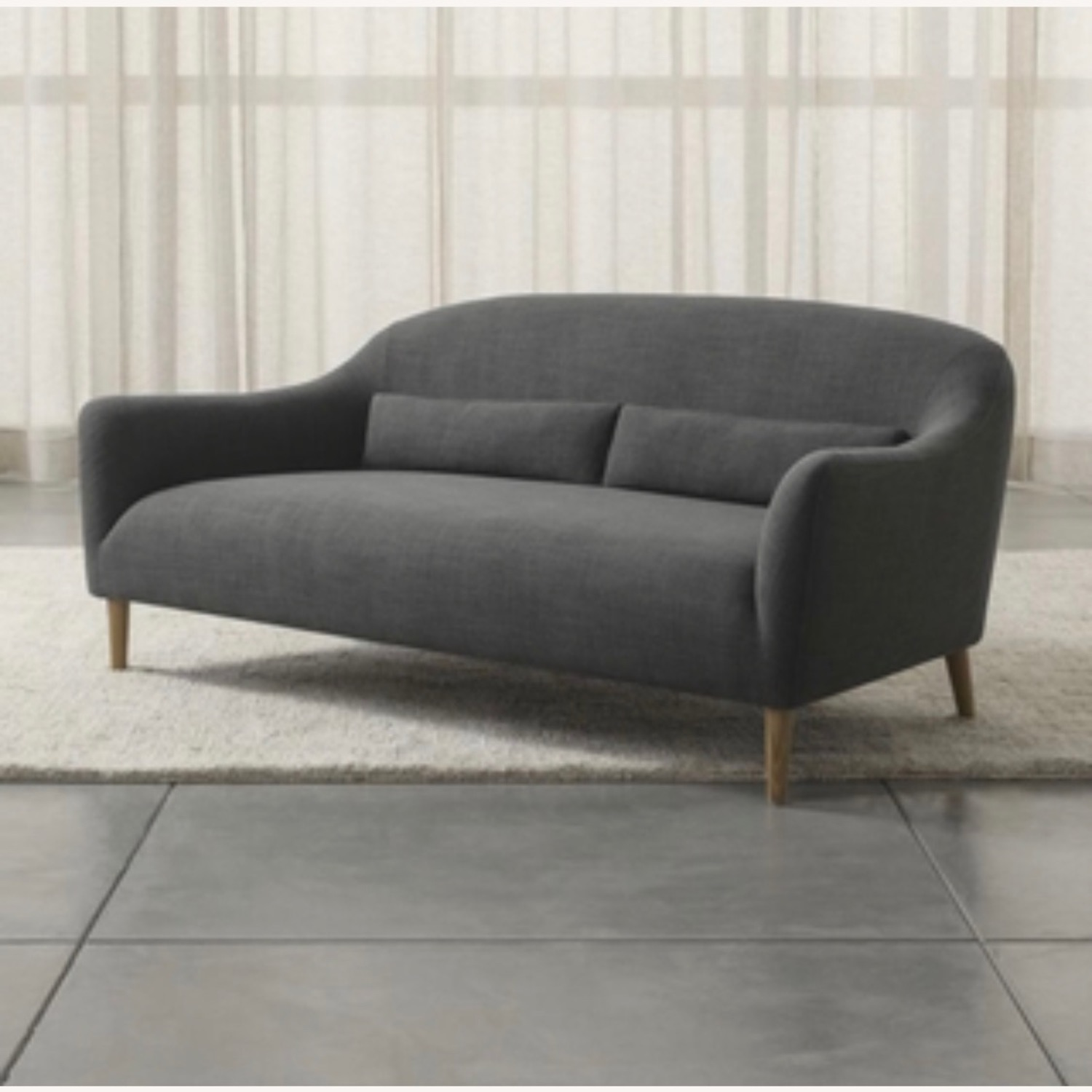 Crate and Barrel Pennie Sofa - image-1