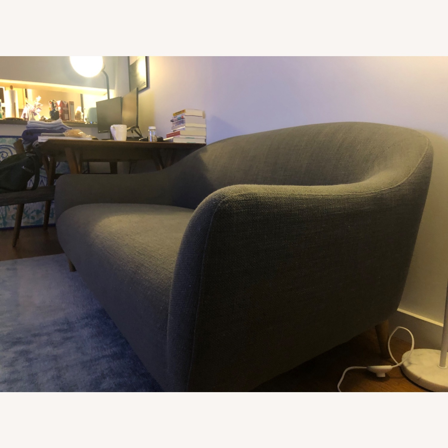 Crate and Barrel Pennie Sofa - image-4