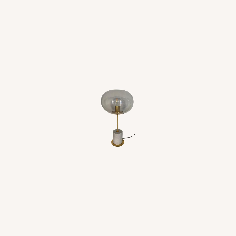 West Elm Marble Base Table Lamp Aptdeco