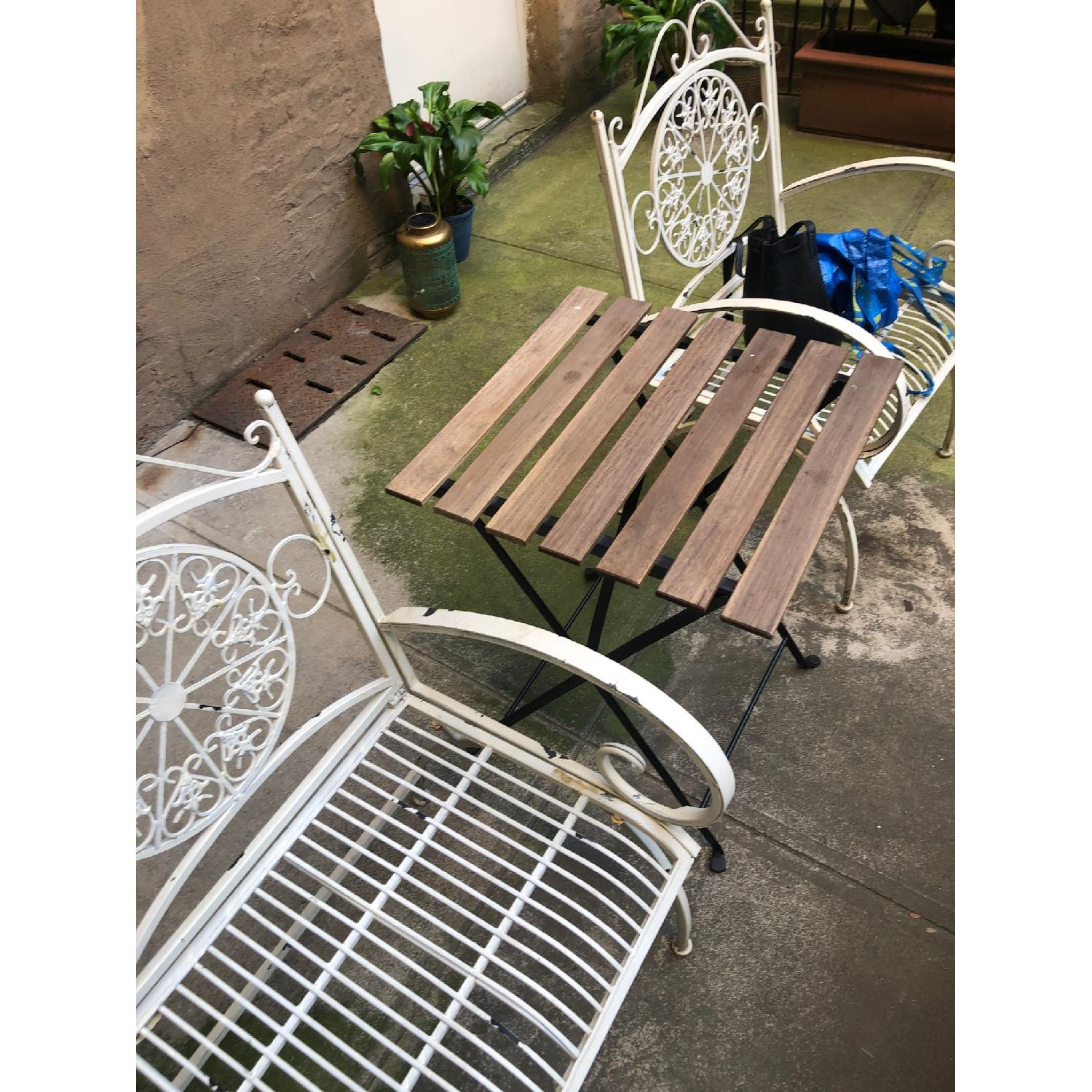 Safavieh Outdoor Rustic Antique White Iron Set - image-4