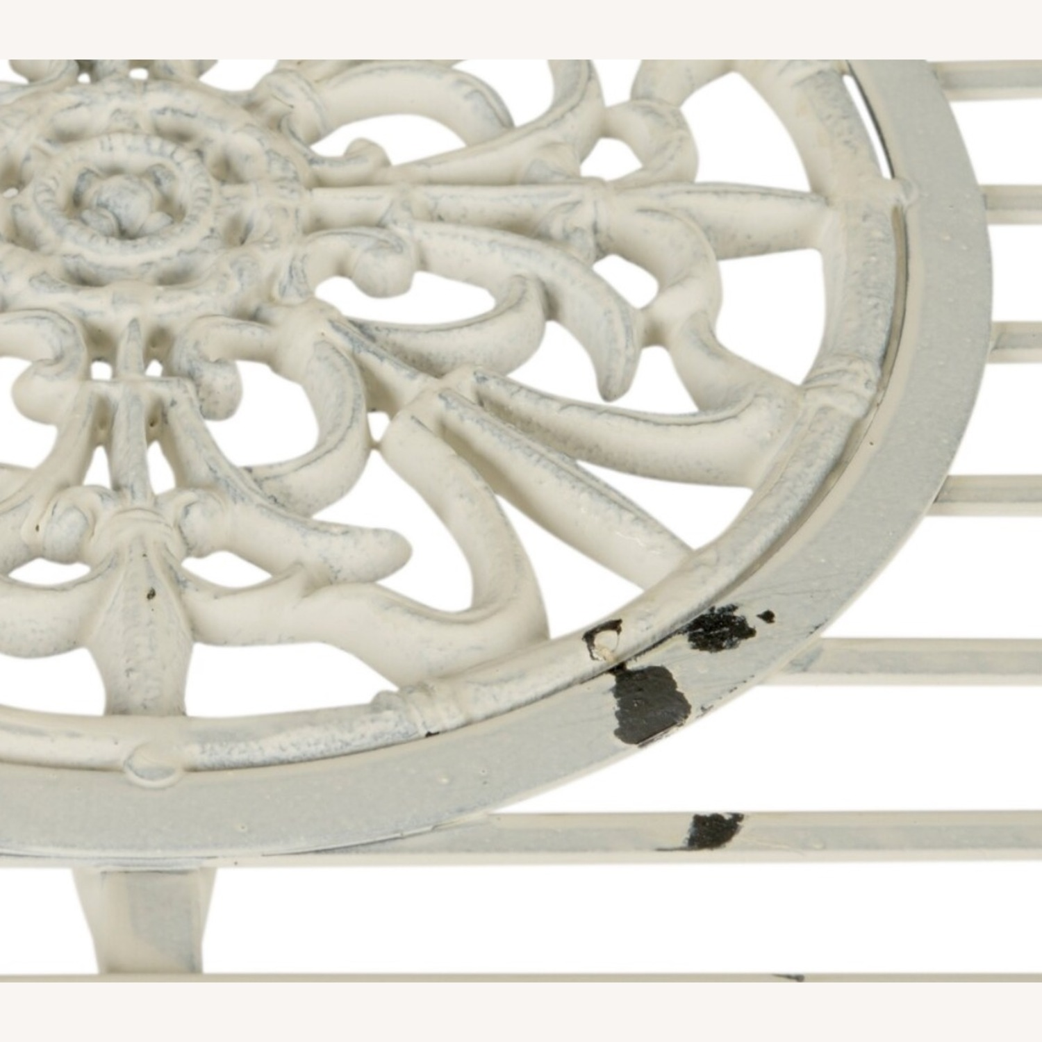 Safavieh Outdoor Rustic Antique White Iron Set - image-3