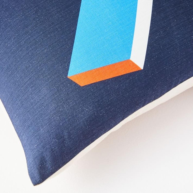 West Elm Lightning Bolt Pillow Cover - image-3