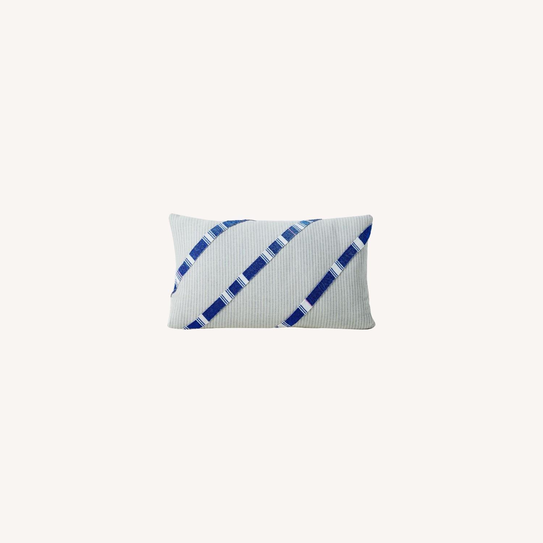 West Elm Roar + Rabbit Beaded Pillow Cover - image-0