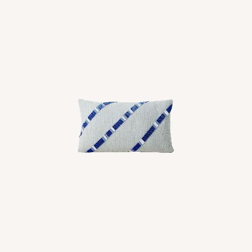 Used West Elm Roar + Rabbit Beaded Pillow Cover for sale on AptDeco