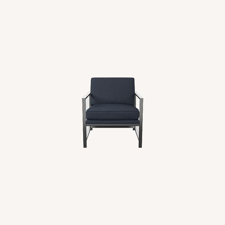 West Elm Metal Frame Chair - image-0