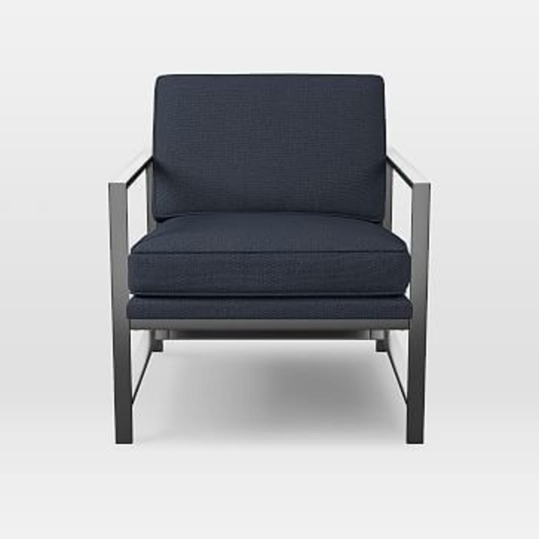 West Elm Metal Frame Chair - image-1