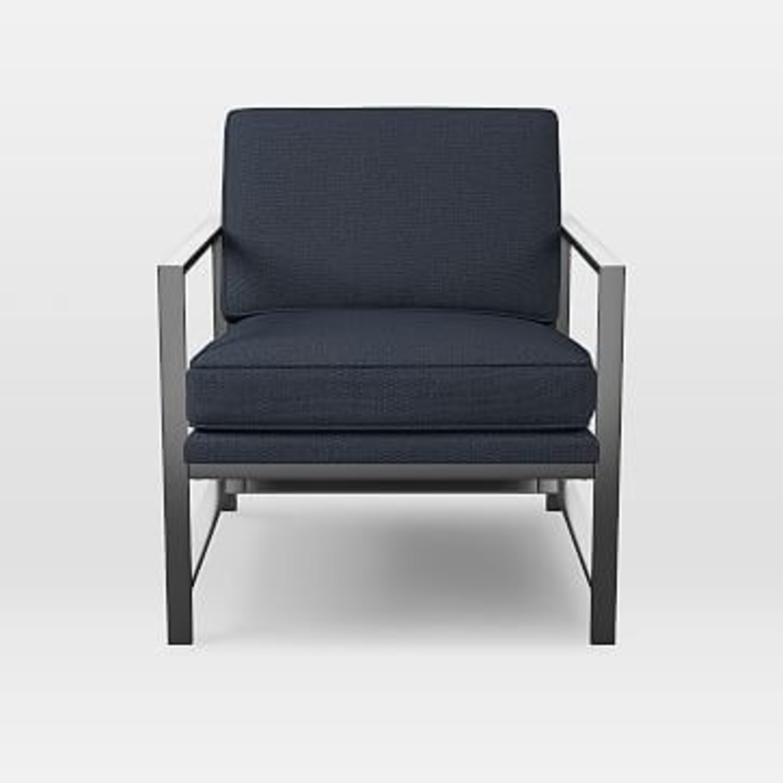 West Elm Metal Frame Chair - image-2