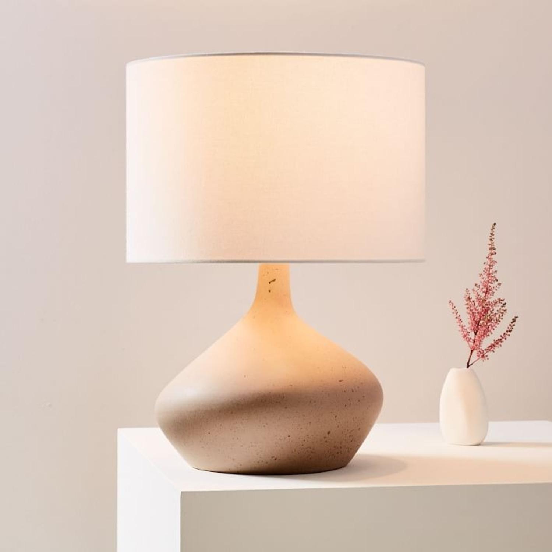 West Elm Asymmetry Ceramic Table Lamp - image-1
