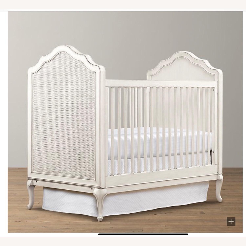 Restoration Hardware Adele Panel Crib - image-0