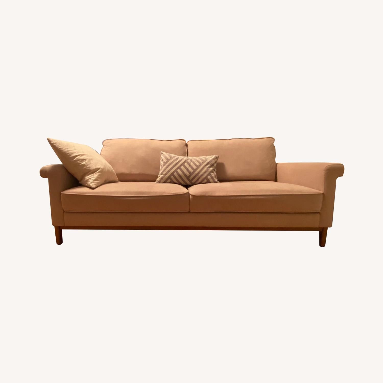 Urban Outfitters Pink Sofa - image-0
