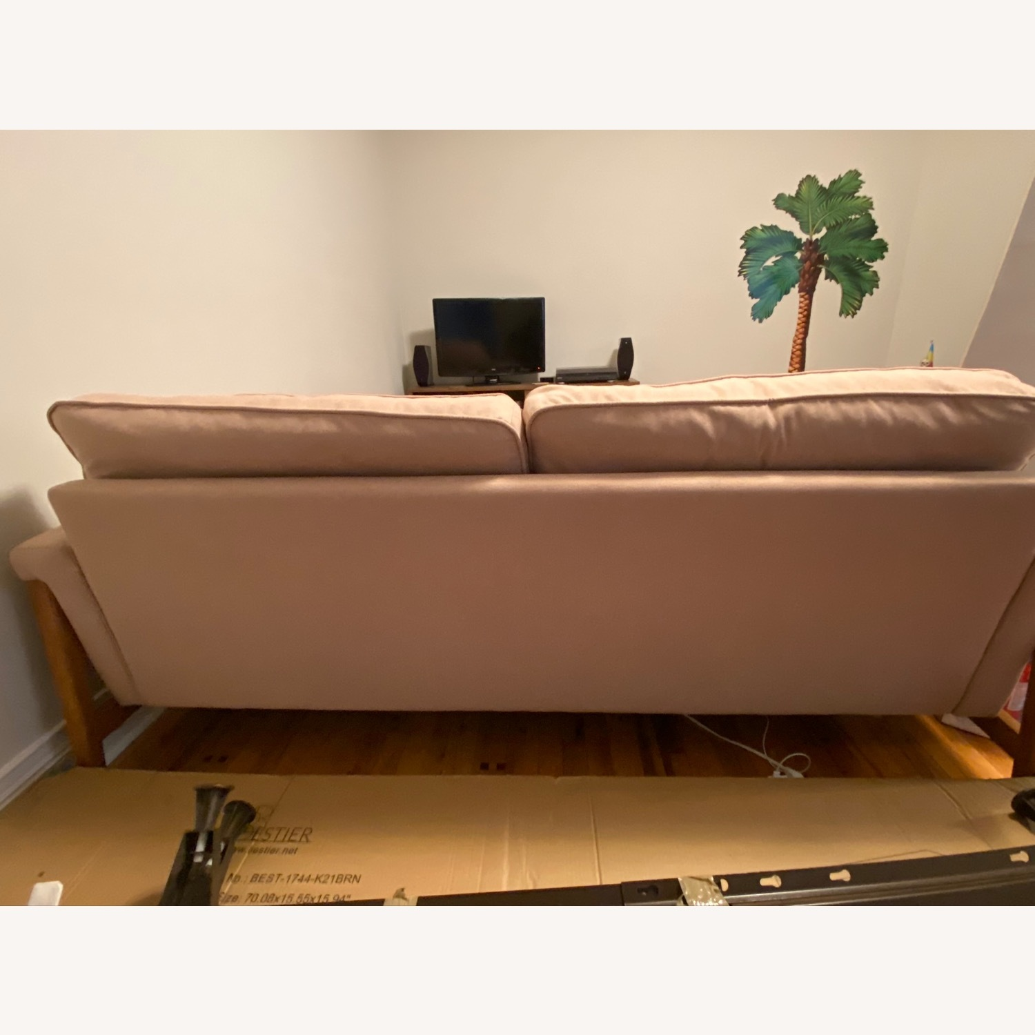 Urban Outfitters Pink Sofa - image-2