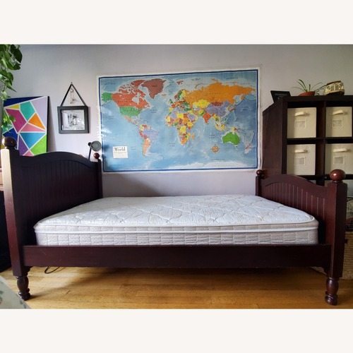 Used Pottery Barn Kids Catalina Twin Bed for sale on AptDeco