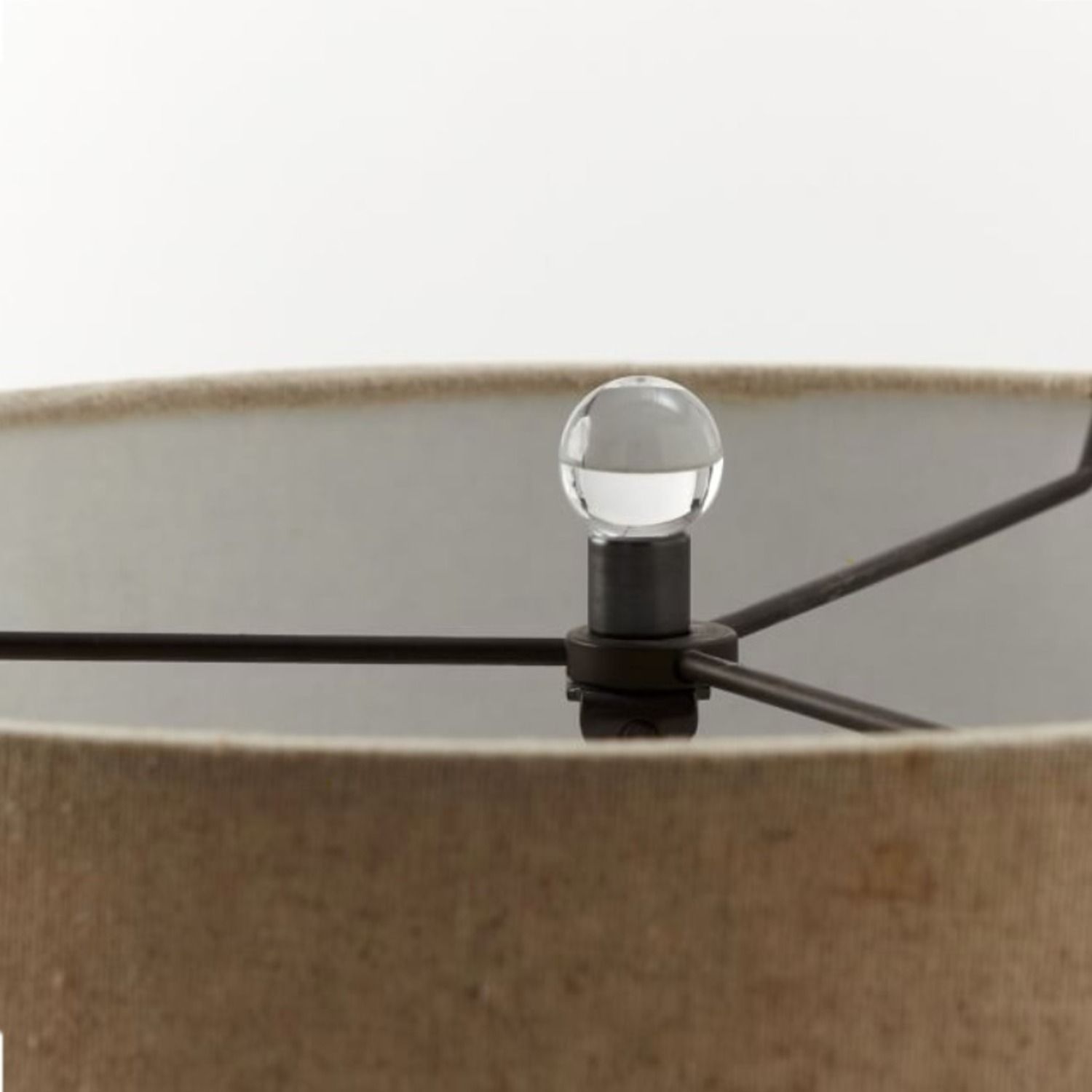 West Elm Abacus Glass Table Lamp - image-2