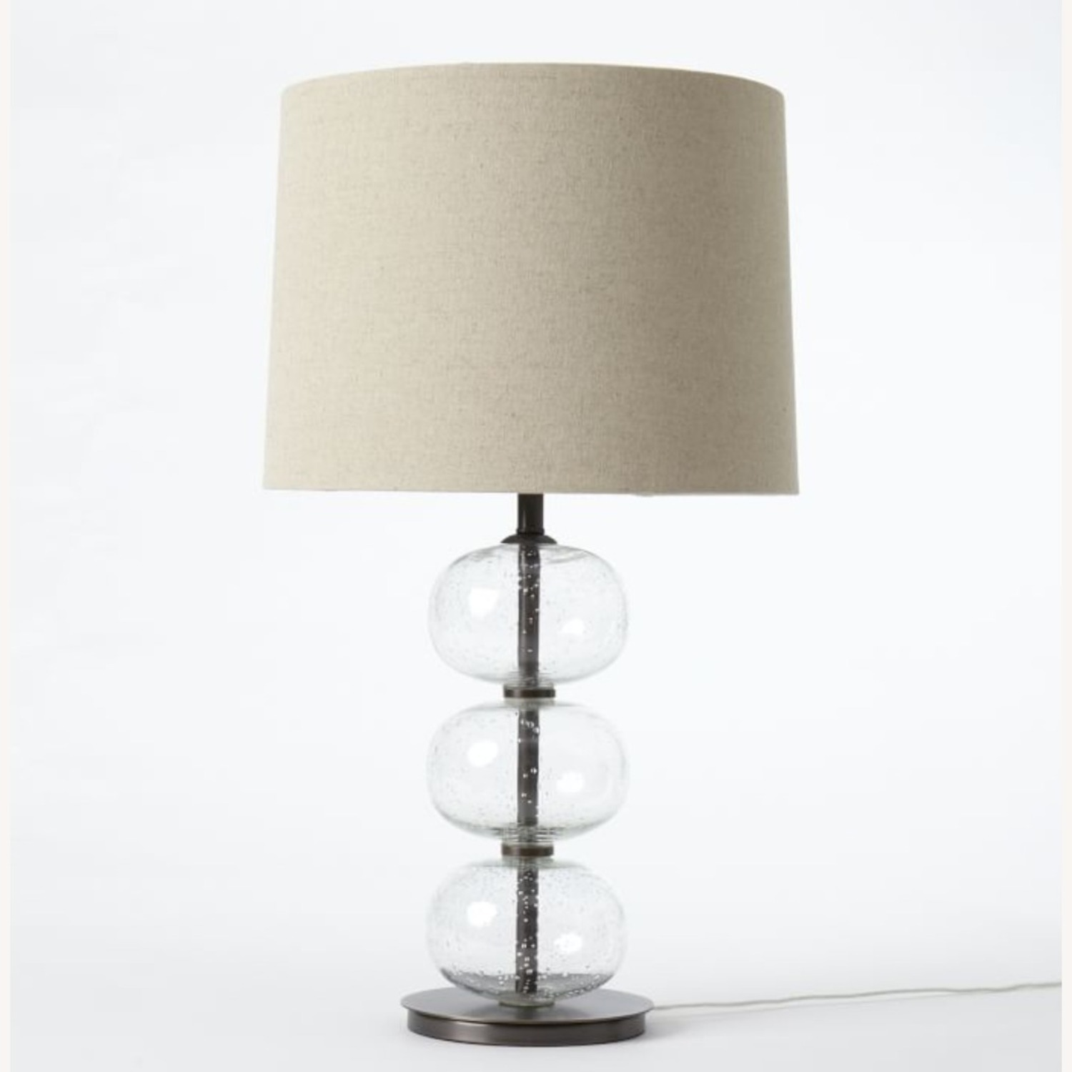 West Elm Abacus Glass Table Lamp - image-1