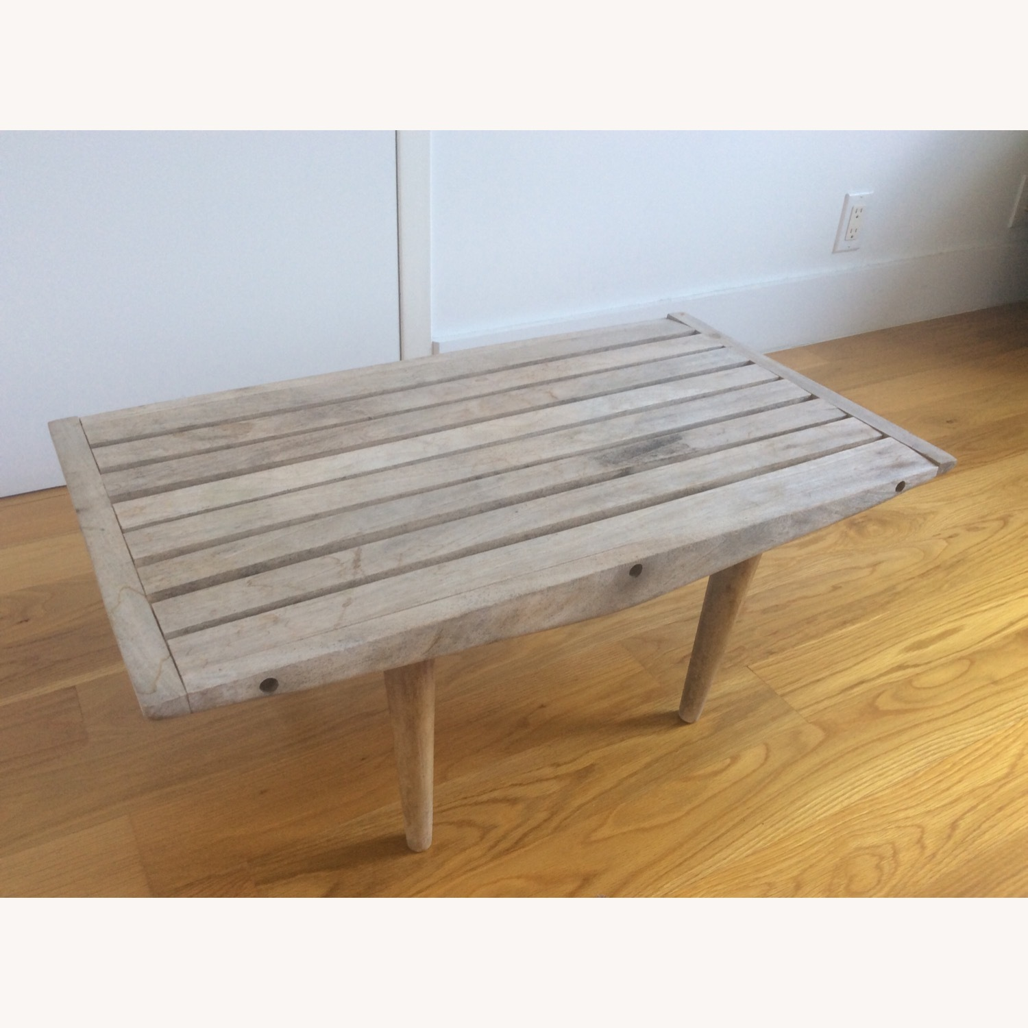 Vintage Wooden Coffee Table - image-6
