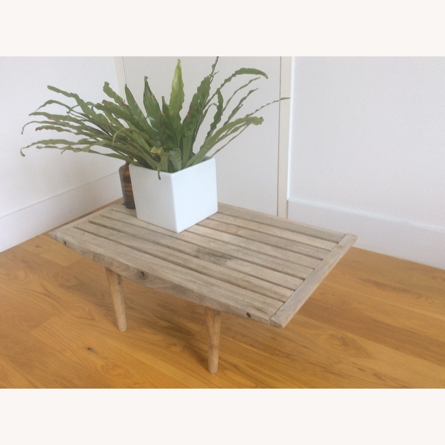 Vintage Wooden Coffee Table - image-4