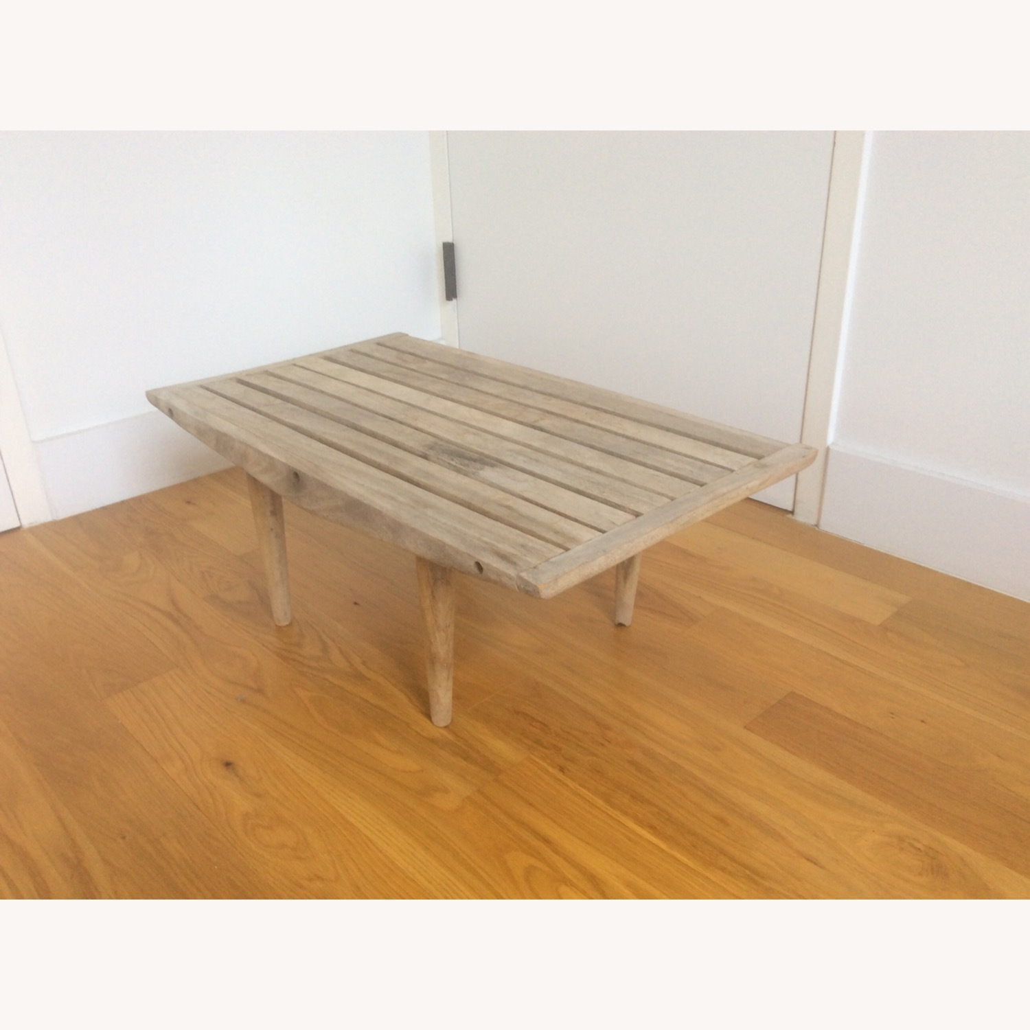 Vintage Wooden Coffee Table - image-2