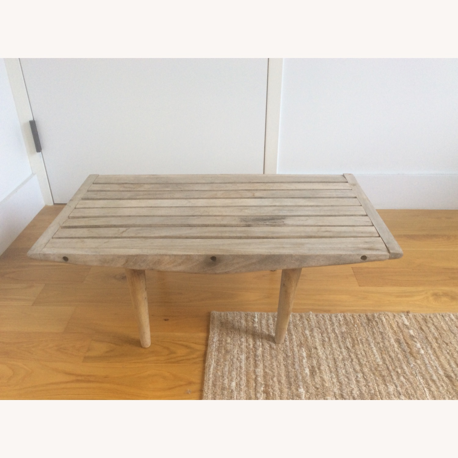 Vintage Wooden Coffee Table - image-1