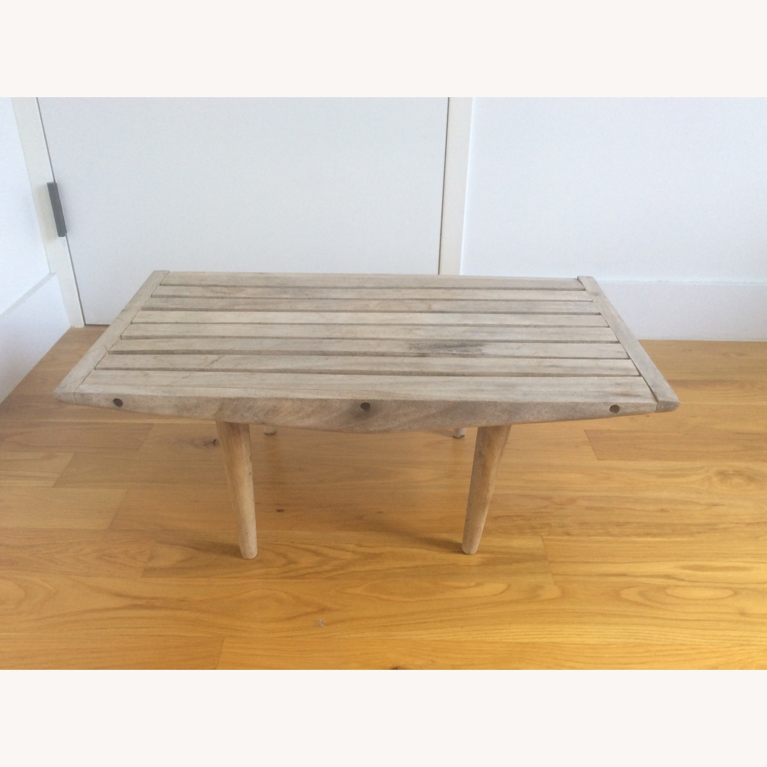 Vintage Wooden Coffee Table - image-0
