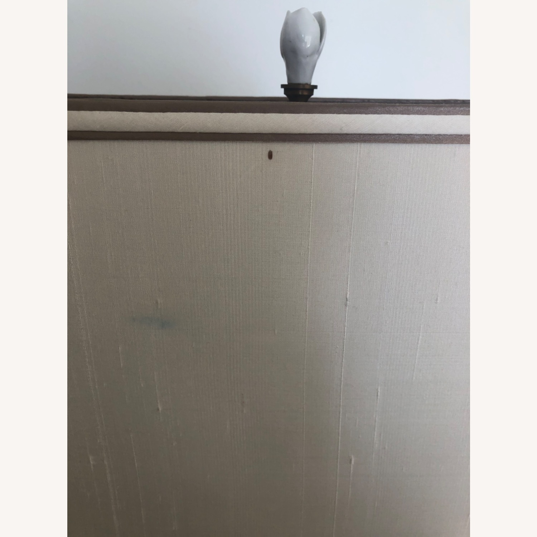Neiman Marcus Ceramic Chinoiserie Lamp - image-6