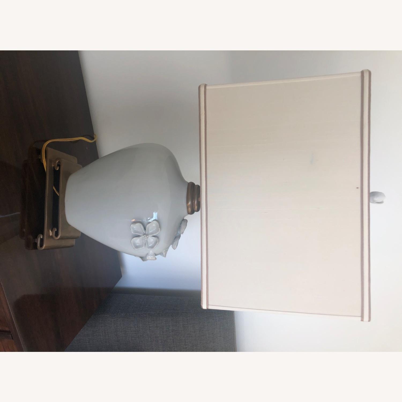 Neiman Marcus Ceramic Chinoiserie Lamp - image-10