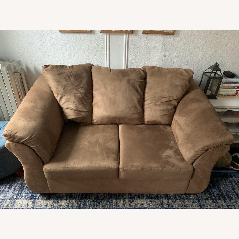 Ashley Furniture Dark Sand Sofa - image-1