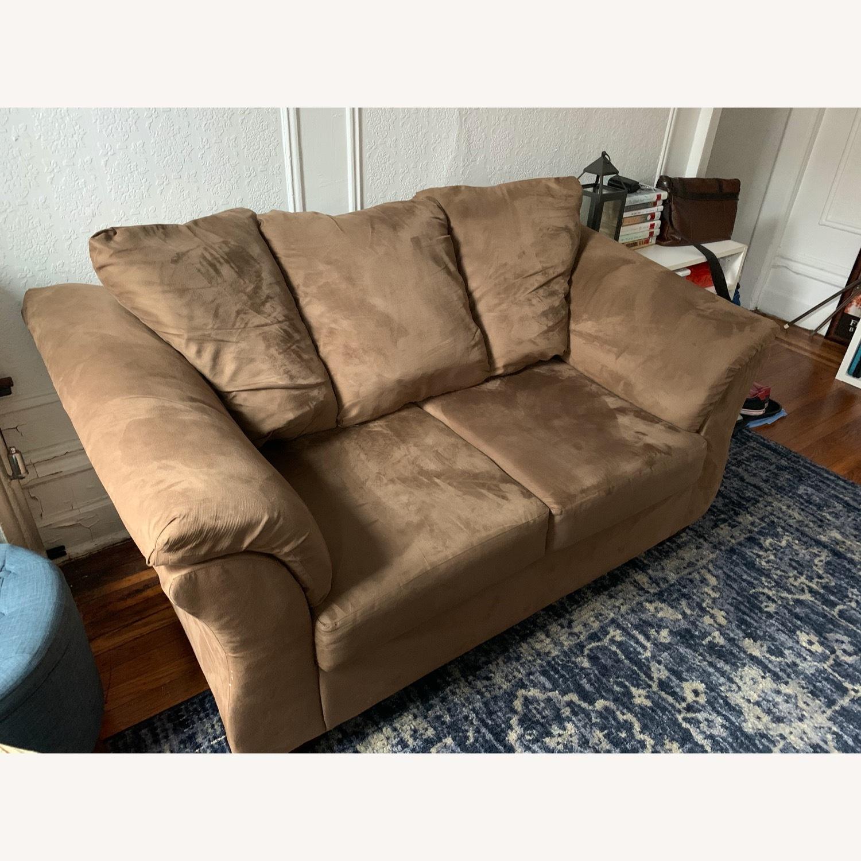 Ashley Furniture Dark Sand Sofa - image-2