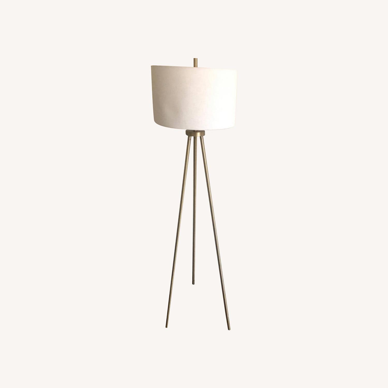 Target Gold Tripod Floor Lamp - image-0
