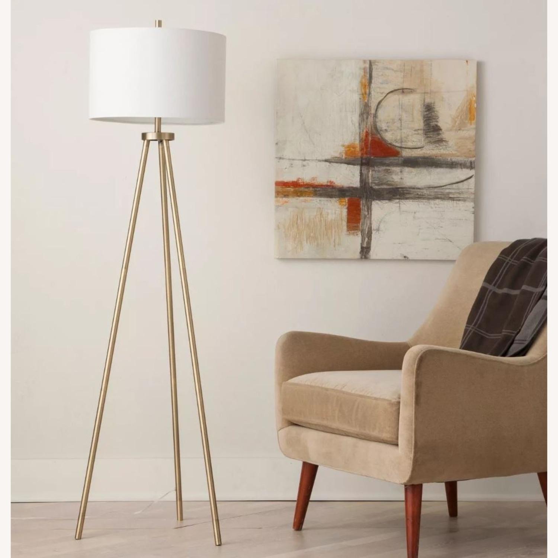 Target Gold Tripod Floor Lamp - image-3