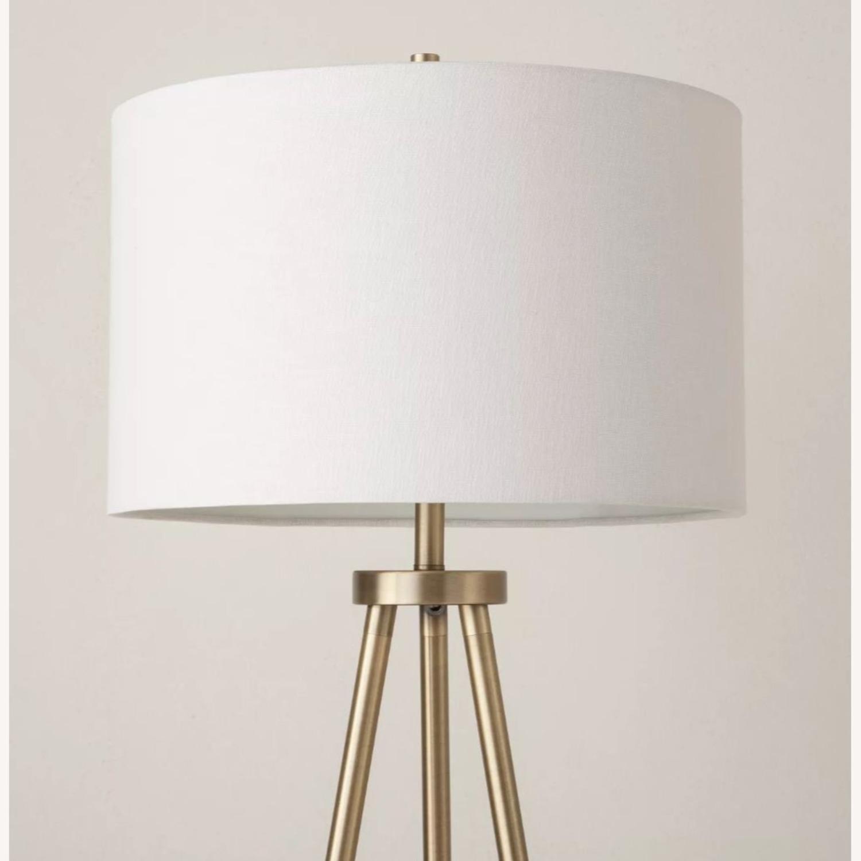 Target Gold Tripod Floor Lamp - image-2