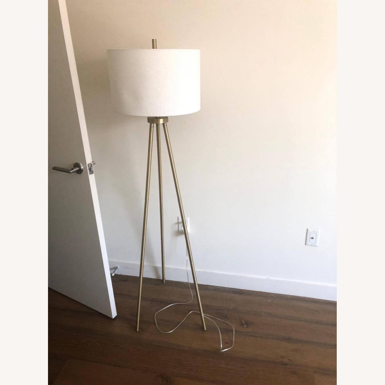 Target Gold Tripod Floor Lamp - image-1