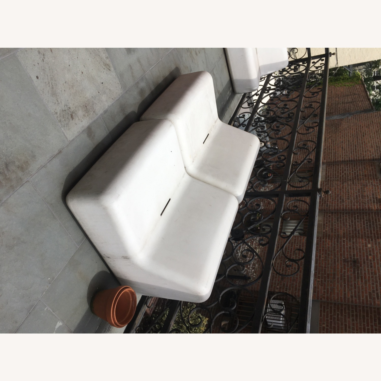 Modern Recycled Plastic Outdoor Seating - image-4