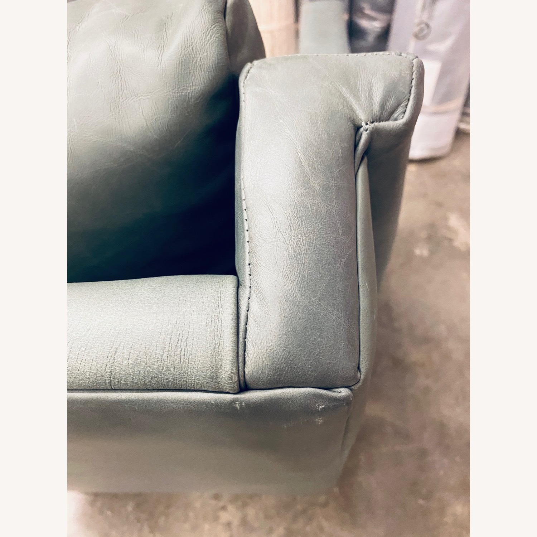 West Elm Carlo Mid Century Leather - image-6