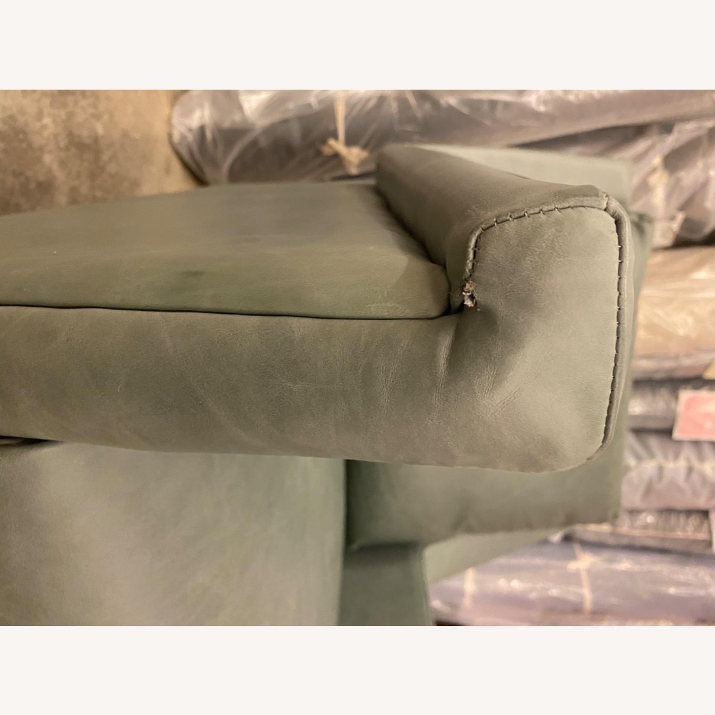 West Elm Carlo Mid Century Leather - image-9