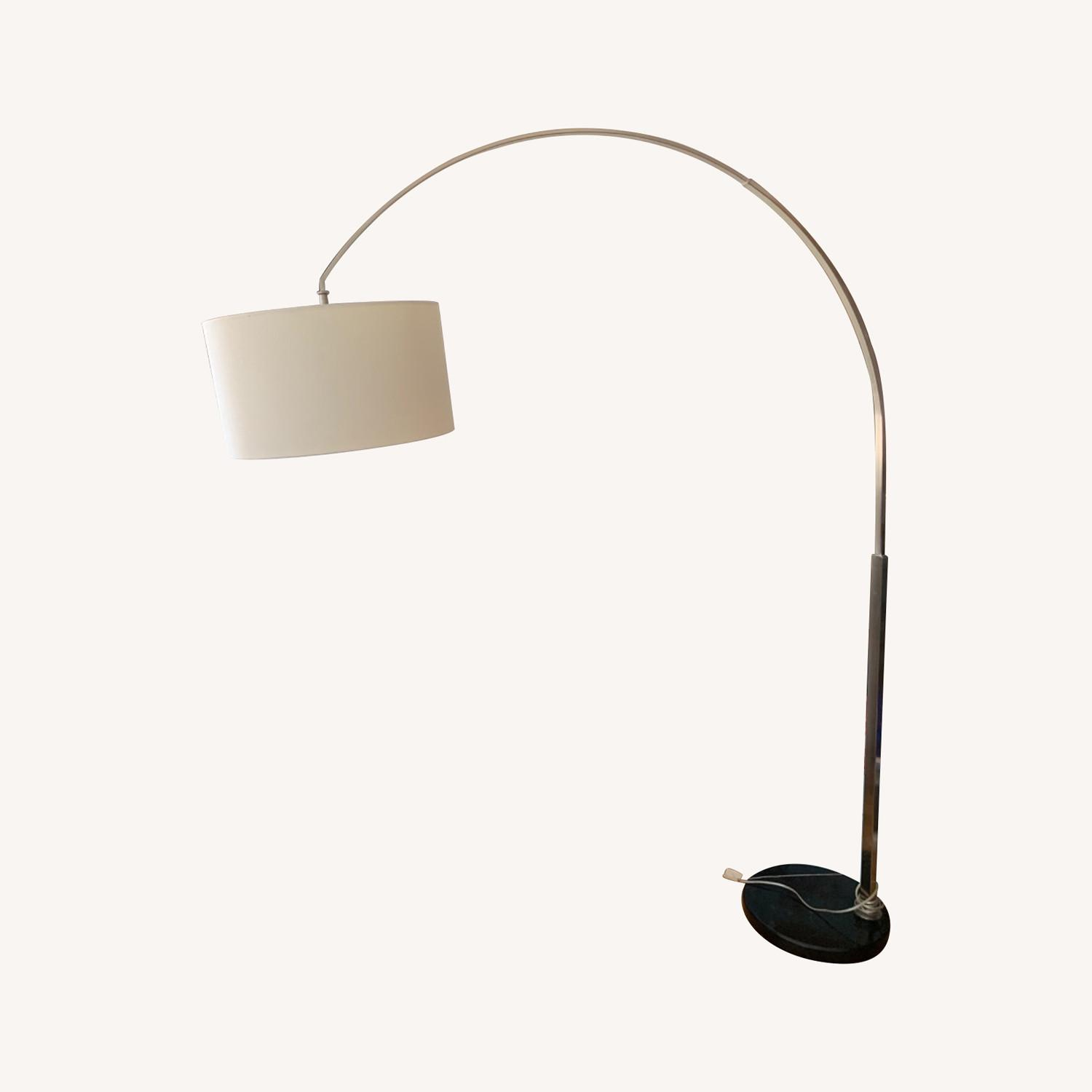 Wade Logan Arched Floor Lamp - image-0