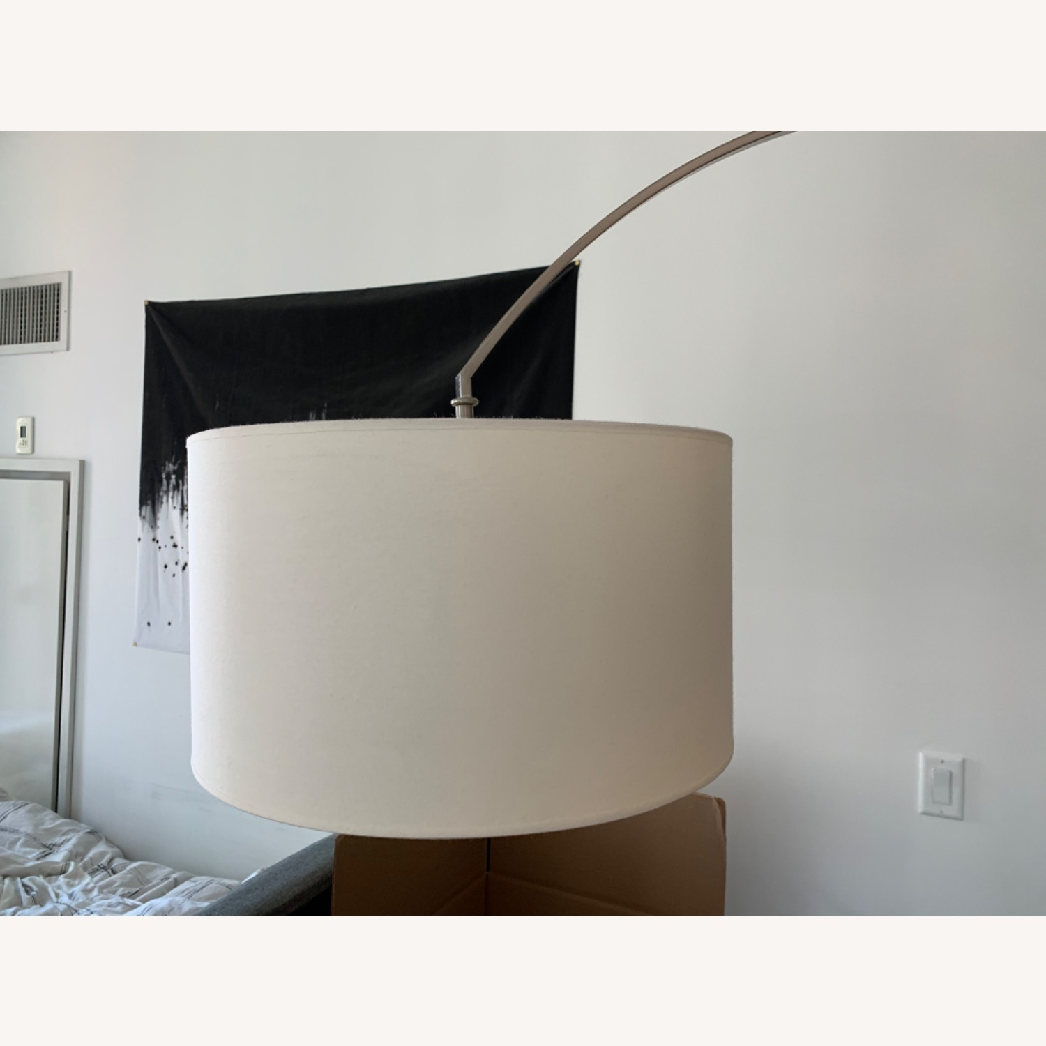 Wade Logan Arched Floor Lamp - image-2