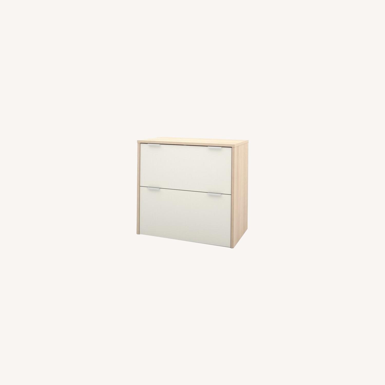 Image of: Bestar I3 Plus Lateral Filing Cabinet Aptdeco