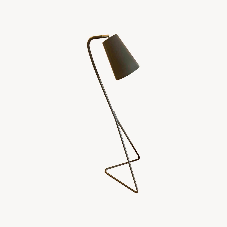 Crate & Barrel Mick Brindle Floor Lamp - image-0