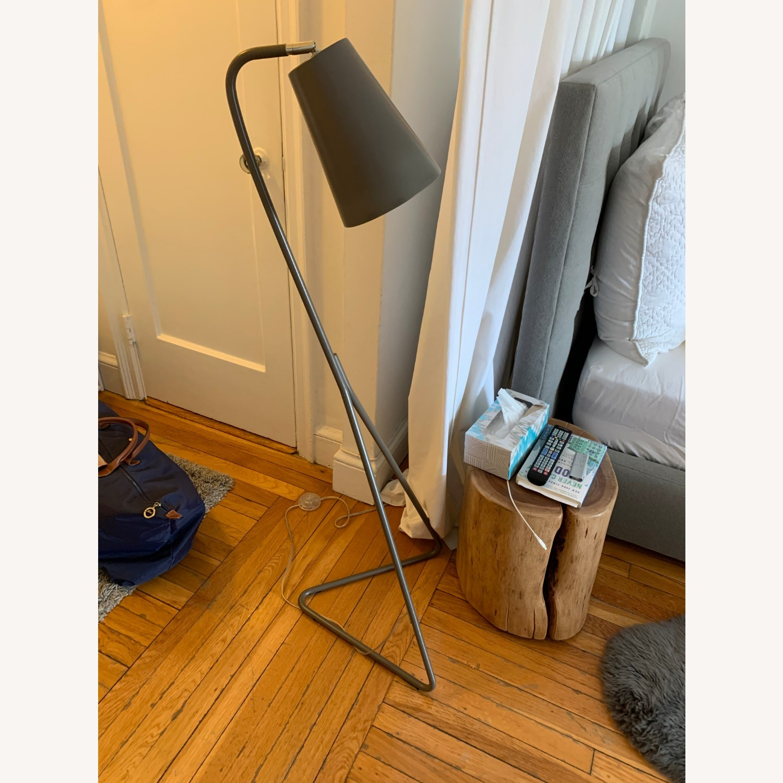 Crate & Barrel Mick Brindle Floor Lamp - image-3