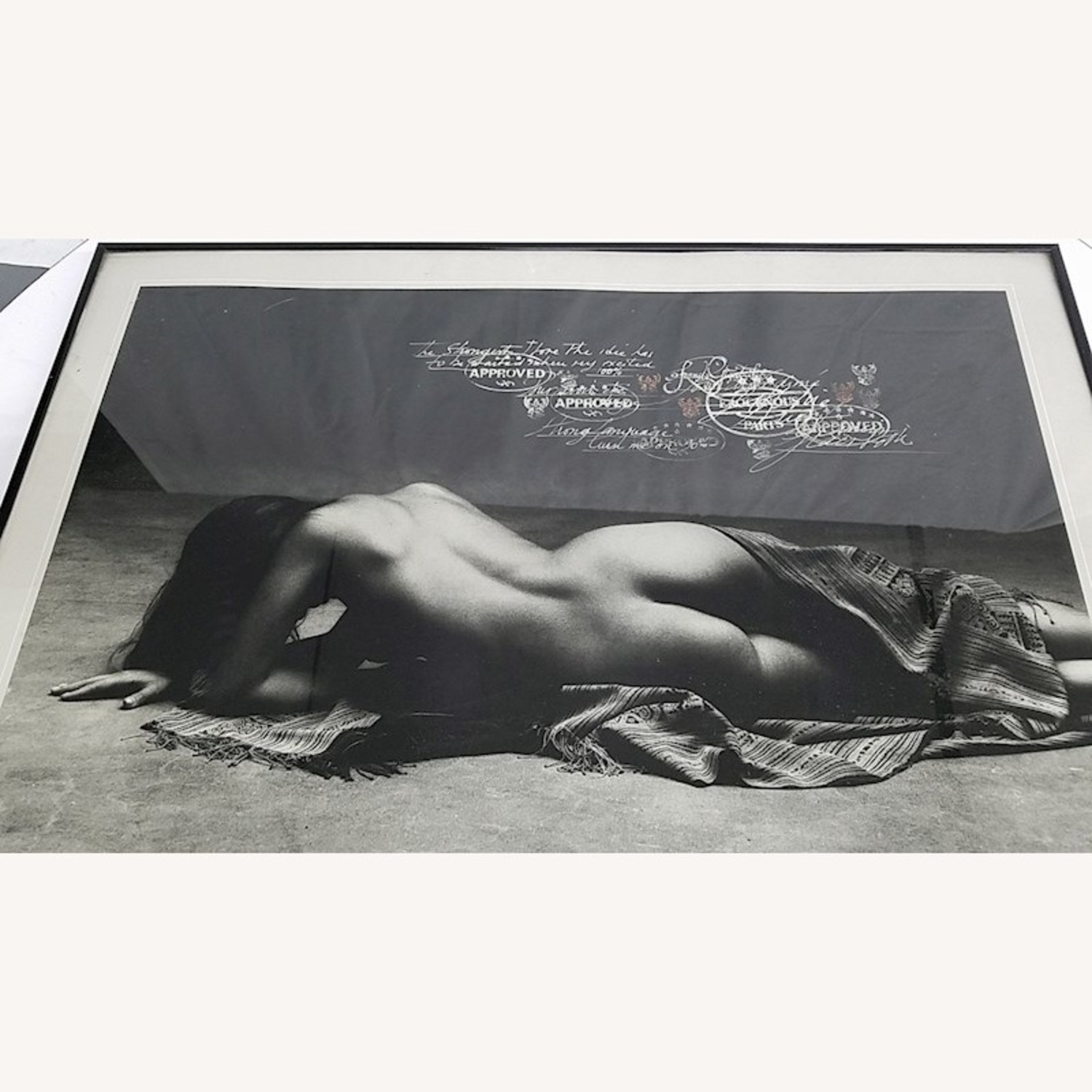 SIGNED Francis Giacobetti Photography Print, Frame - image-1