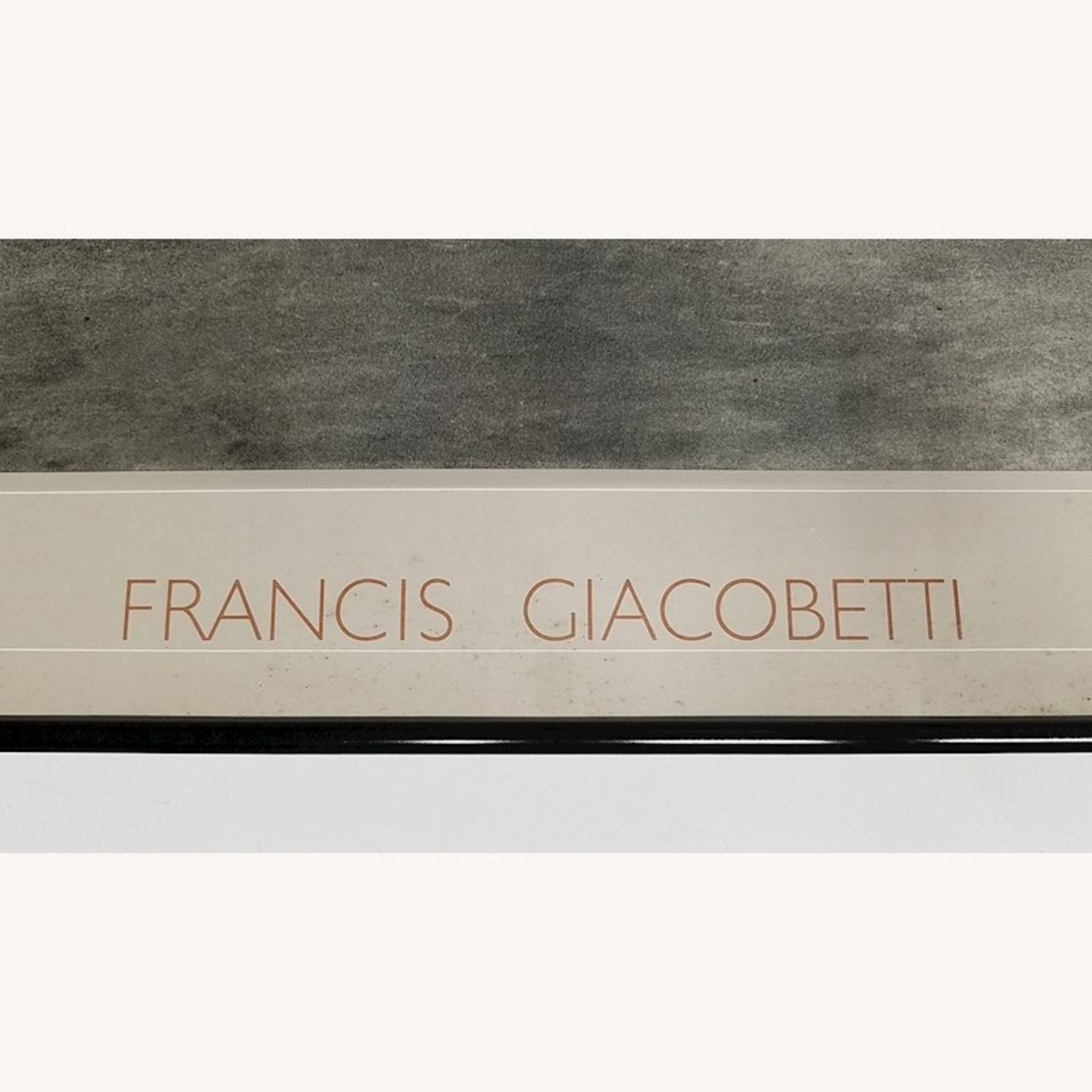 SIGNED Francis Giacobetti Photography Print, Frame - image-5