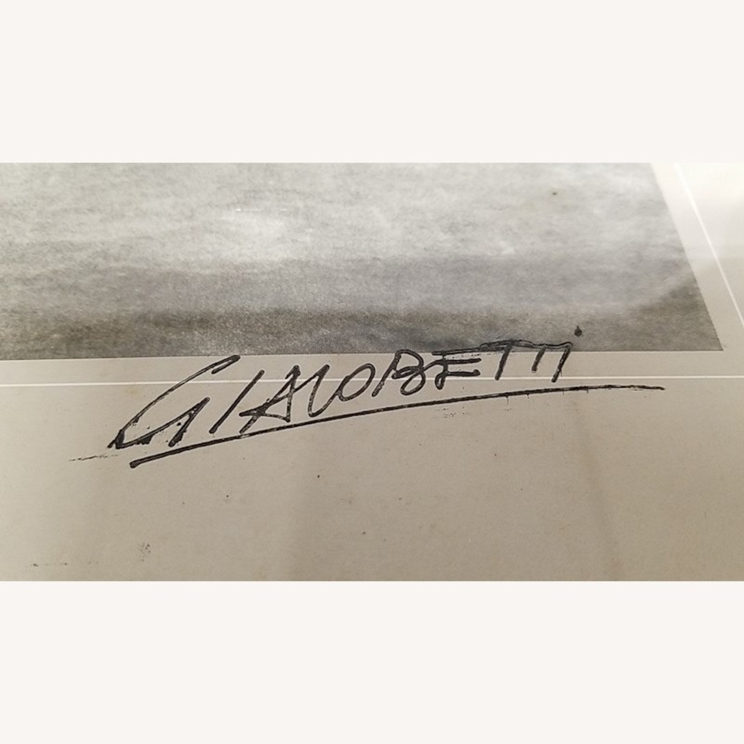SIGNED Francis Giacobetti Photography Print, Frame - image-3